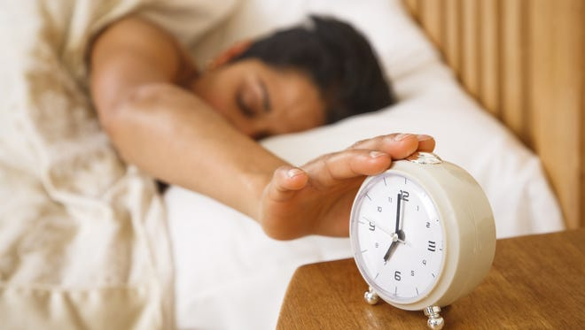 iStockphoto/Getty Images  Survey: About 23% of people with chronic pain had  a sleep disorder. Stock photo of Woman waking up Credit: Paul Maguire/iStockphoto, Getty Images Thinkstock GETTY ID#: 176858937.jpg