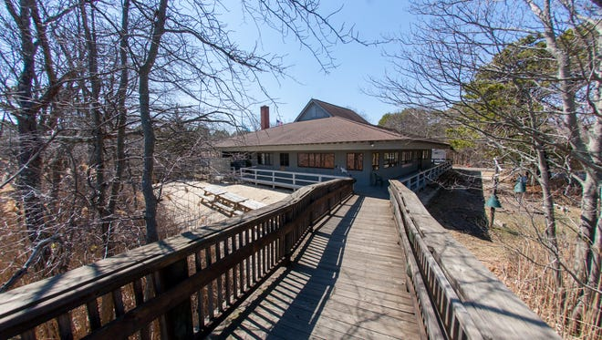 The Cooper Environmental Center at Cattus Island County Park in Toms River still shows the effects of superstorm Sandy in this file photo from April 3, 2015.