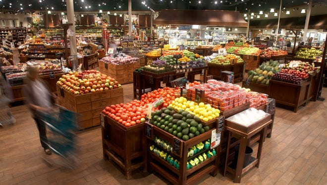 Interior of a The Fresh Market grocery store