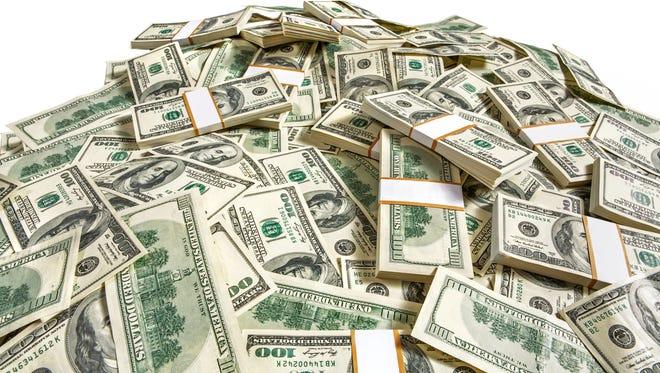 Hundred-dollar bills