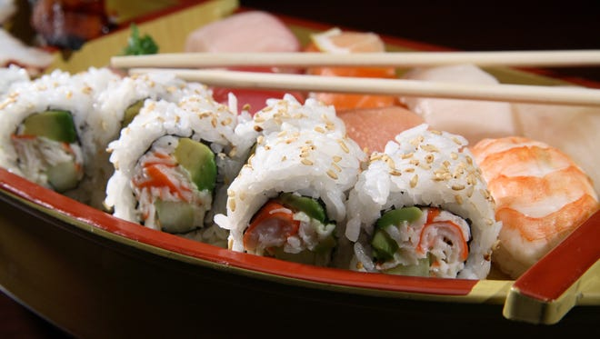 A sushi rolling class will take place at Saffron Fields Vineyard on Aug. 27.