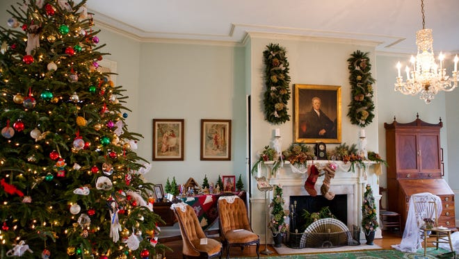 "Fairmount Park is celebrating ""A Very Philly Christmas"" with tours and taste tests at historic homes in the park."