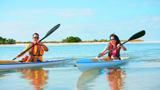 Pack for a picnic and head to a coastal island by kayak. The 190-mile Calusa Blueway provides the perfect spots for paddlers looking for getaways.