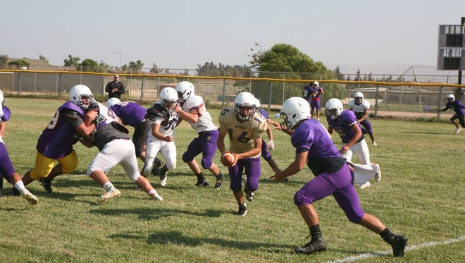 The Soledad Aztecs have a non-league scheduled highlighted with games versus Seaside and at Antioch. Head coach Frankie Berlanga said this is the toughest schedule the Aztecs have ever had.