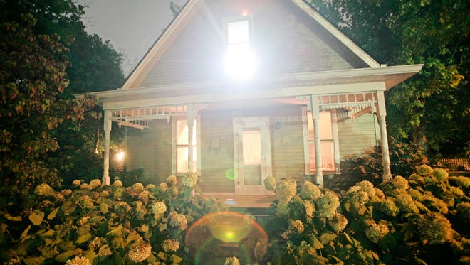 This Irvington cottage was a stop on a cross country murder and crime spree by  H.H. Holmes, America's first serial killer. The property is believed to be the site where the serial killer dismembered and burned a young boy, Howard Pitzel in 1894.