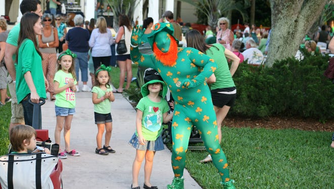 Wear your best green for a chance to win in the costume contest at Shamrock Fest!