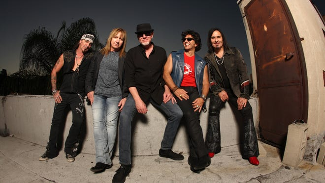 Hard rock band Great White will perform at St. Clair Riverfest.
