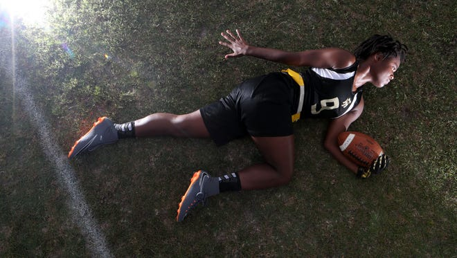 Florida High sophomore Janae Scott is the 2018 All-Big Bend Player of the Year in flag football.