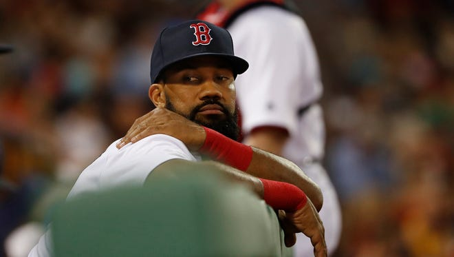 Outfielder Chris Young was reportedly part of the Red Sox's elaborate sign-stealing system that prompted MLB discipline for the franchise.