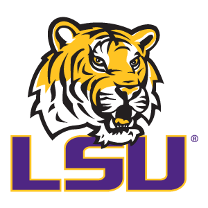 lsu men win first sec golf title in 28 years rh shreveporttimes com  lsu logo font style