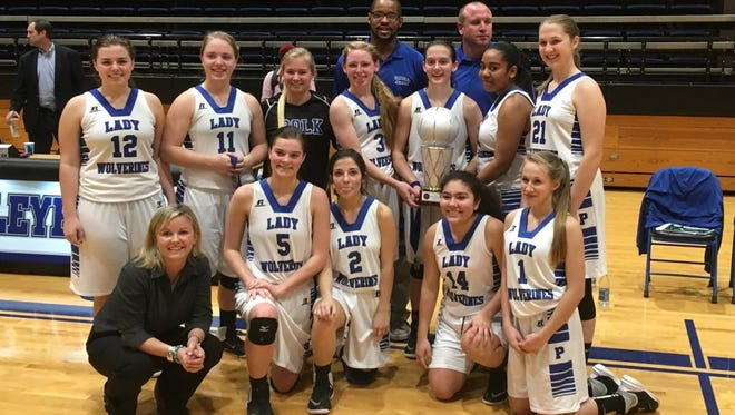 Polk County girls basketball team won a Wells Fargo WNC Holiday Classic championship on Wednesday.