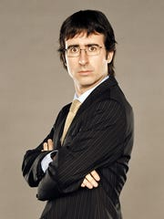 John Oliver last appeared in New Brunswick for a May 2013 appearance at the Stress Factory.
