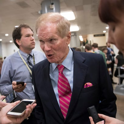 No surprise Bill Nelson not among early stampede calling for Al Franken to leave Senate