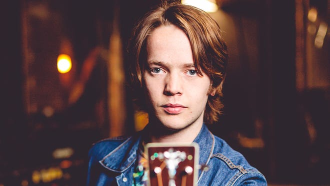 "Rising progressive bluegrass star Billy Strings will perform Thursday at the Ryman Auditorium with the Del McCoury Band. The 25-year-old's debut LP is ""Turmoil & Tinfoil."""