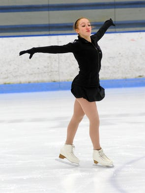 Sophomore Chloe Roslin, a key member of the Bloomfield