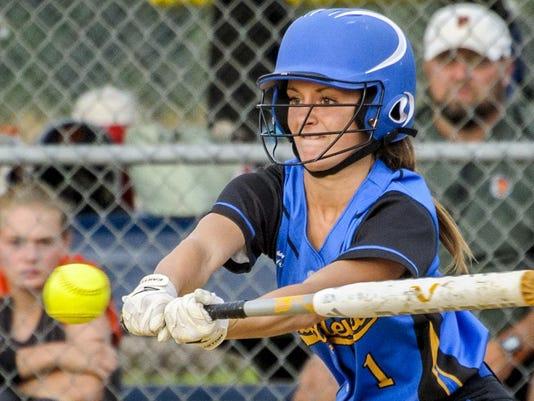Martensdale St. Marys, Pleasantville, softball,