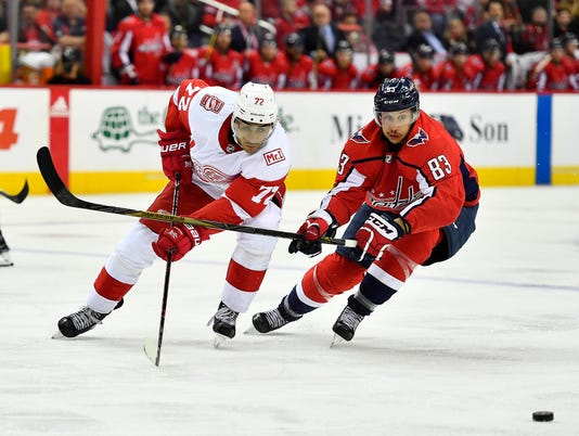 NHL: Detroit Red Wings at Washington Capitals