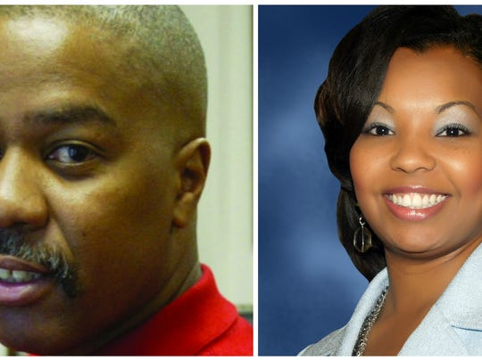 Gerald Boudreaux and Ledricka Johnson Thierry are running