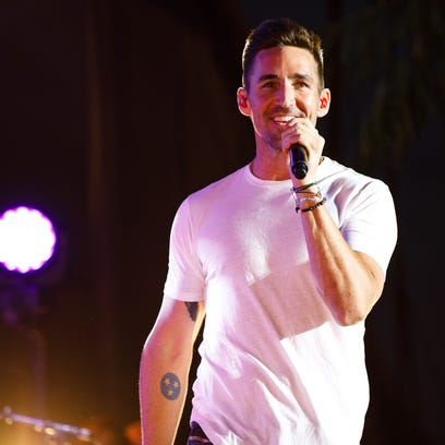 Jake Owen performs Friday, Aug. 18, 2017, during the