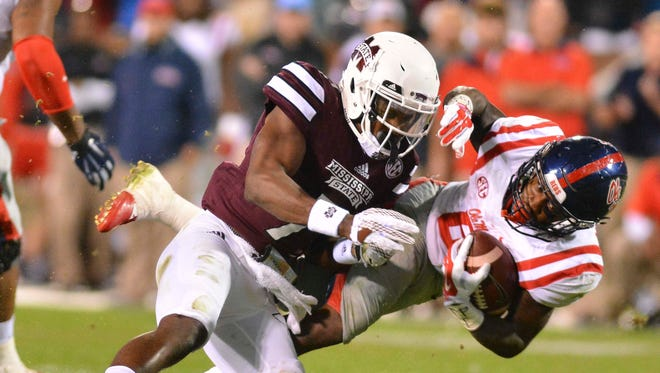 Mississippi State corner Tolando Cleveland will miss the entire season after tearing his ACL.
