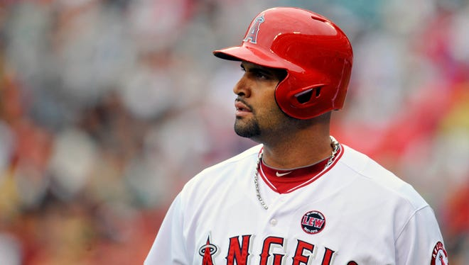 Albert Pujols has not played since July 26 and will miss the rest of the season.