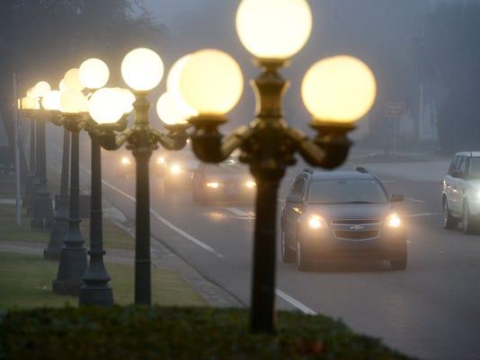 foggy weather