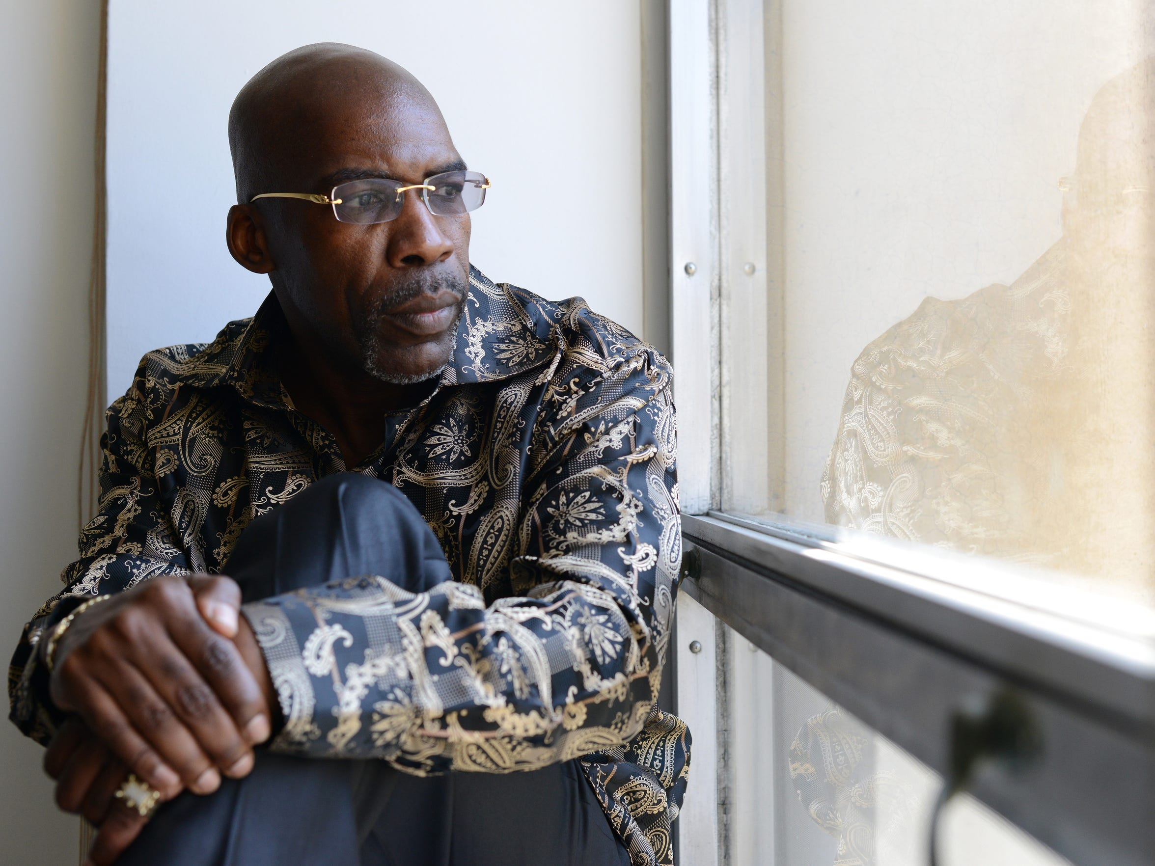 Jonathan Fleming, 52, spent 24 years in prison for a murder he didn't commit. The day he was released, dozens of news cameras recorded his first moments as a free man. But more than a year after his release, he has not received any compensation.