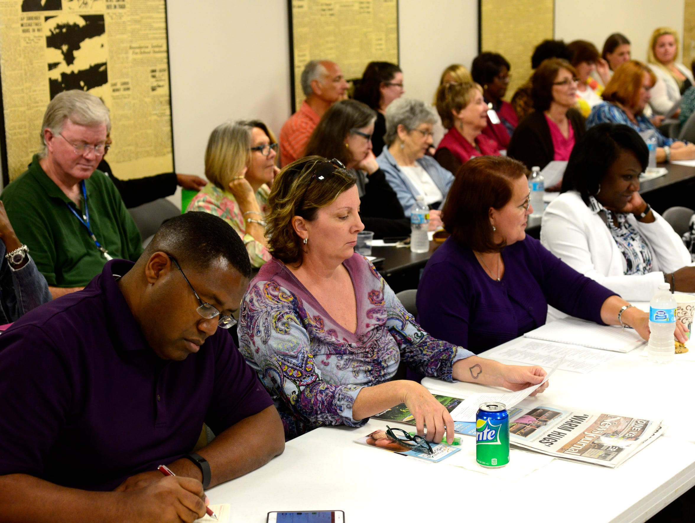The Pensacola News Journal hosted a child abuse forum