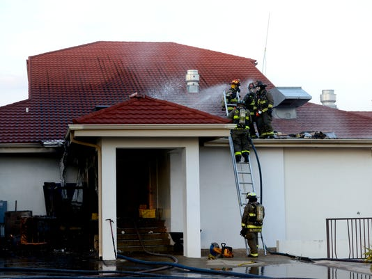 Tiger Point Country Club fire