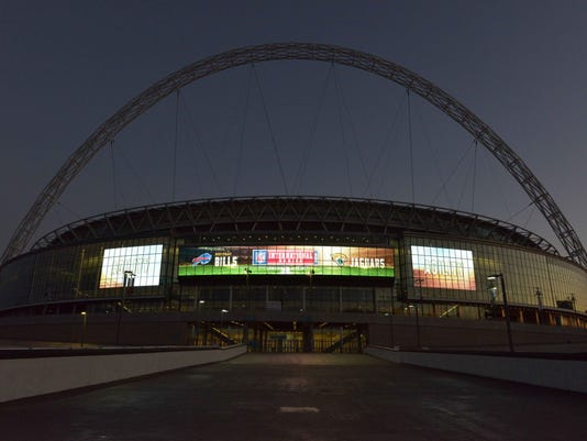 NFL: International Series-Wembley Stadium Views
