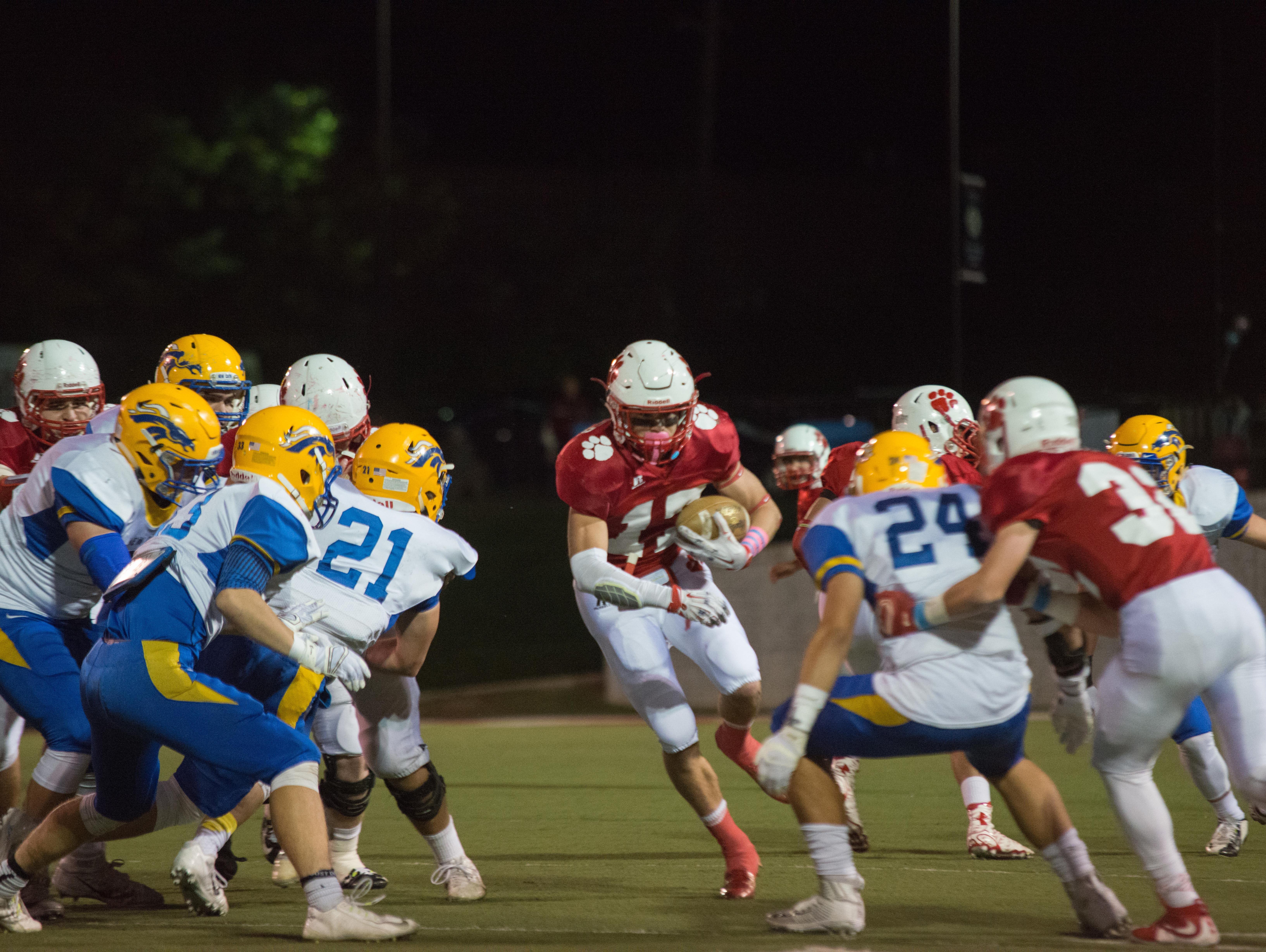 Beechwood High School plays against Newport Central Catholic on Oct. 30.