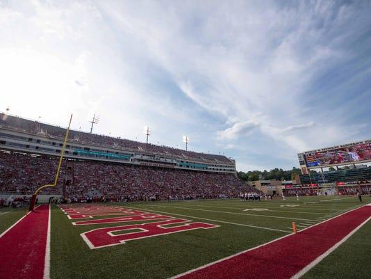 NCAA Football: Texas El Paso at Arkansas