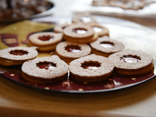 Traditional Christmas cookies were served at the Cookie Swap Party at the Morton Memorial Library in Rhinecliff Sunday.