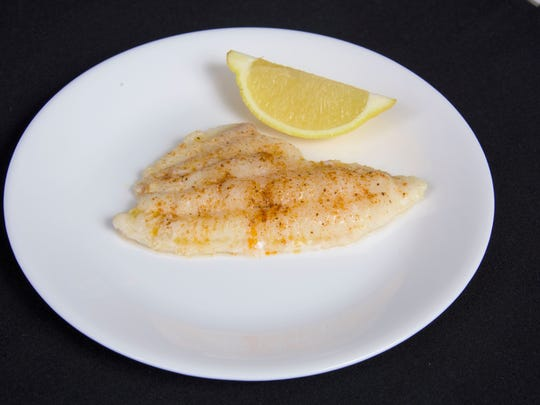 Spicy baked fish, photo courtesy MSU Extension Service