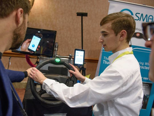 SMARTwheel inventor Tristan Evarts at CES Unveiled