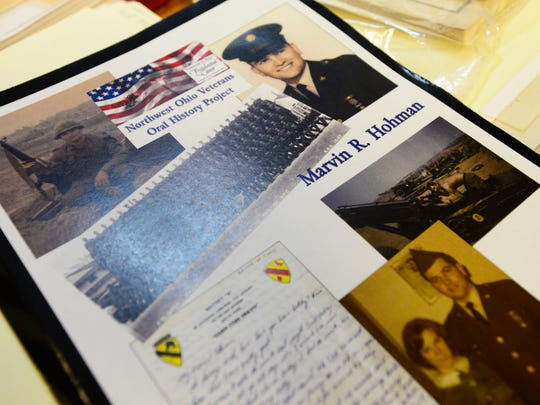 A copy of the materials is given to each veteran, put online at www.historypin.org, and archived in the Rutherford B. Hayes Presidential Center Library.