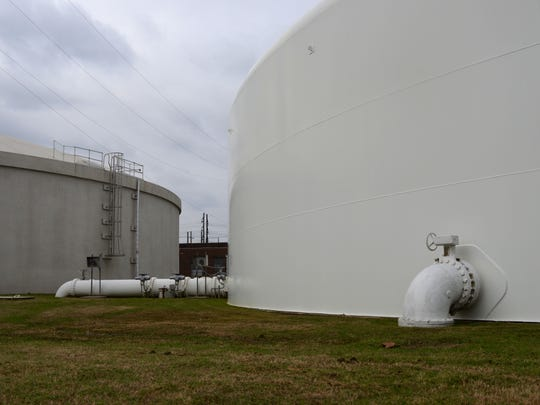 There are seven water storage tanks throughout Monroe,