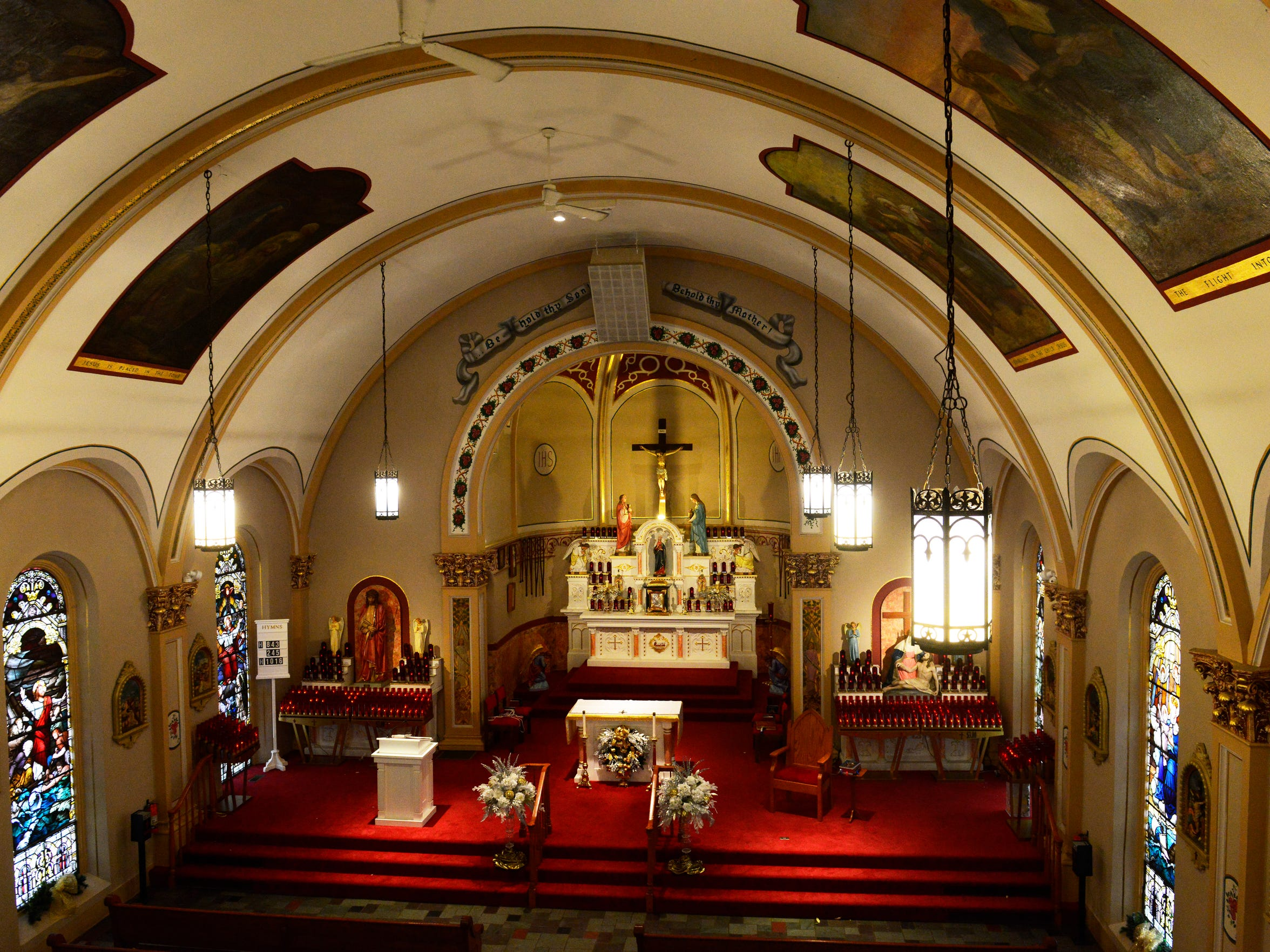 Founded by Father Francis de Sales Brunner in 1850, the shrine is the oldest of its kind east of the Mississippi River.
