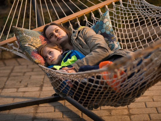 Jacob Tremblay and Brie Larson appear in a scene from