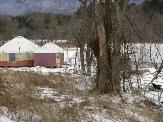 Buildings on the site of Elephant in the Field, a small farm-based child care program in Waterbury, are pictured Saturday.