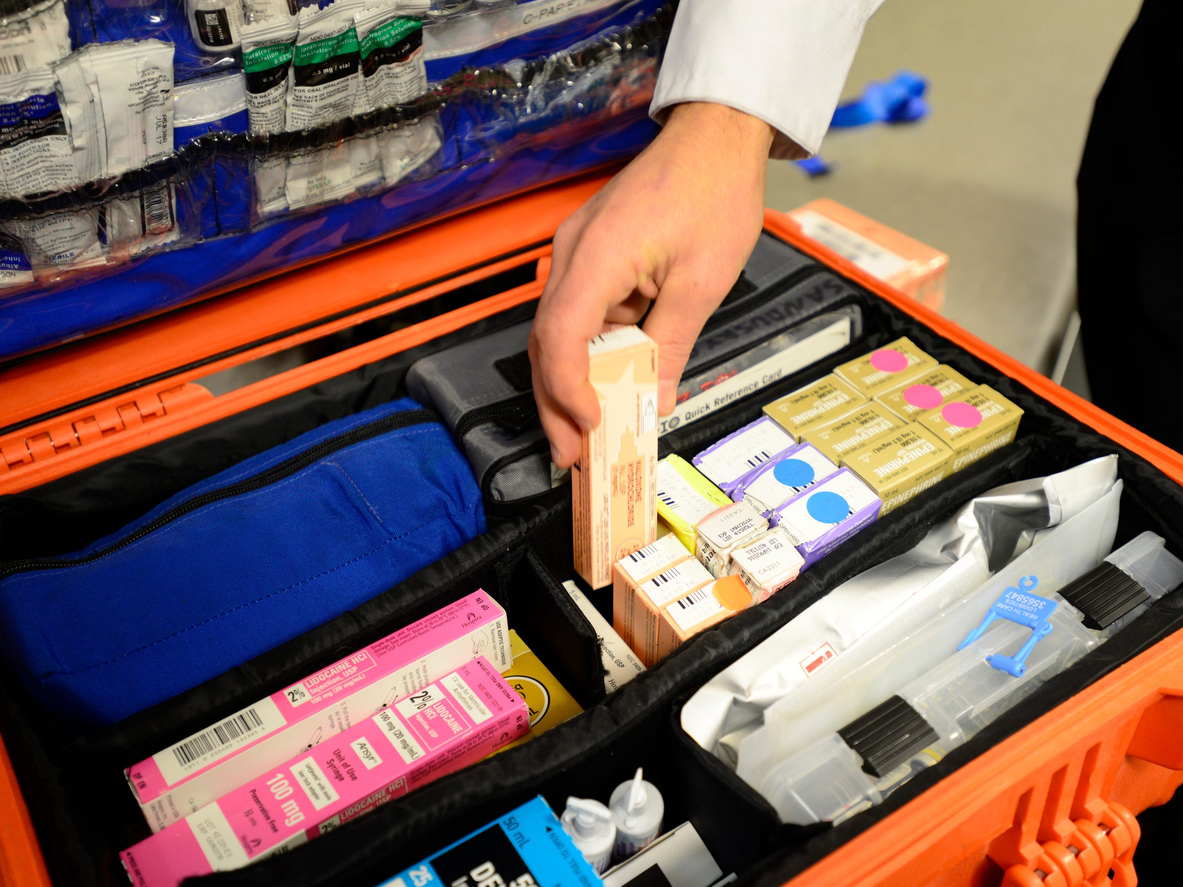 EMS revives people overdosing on heroin with the drug naloxone.