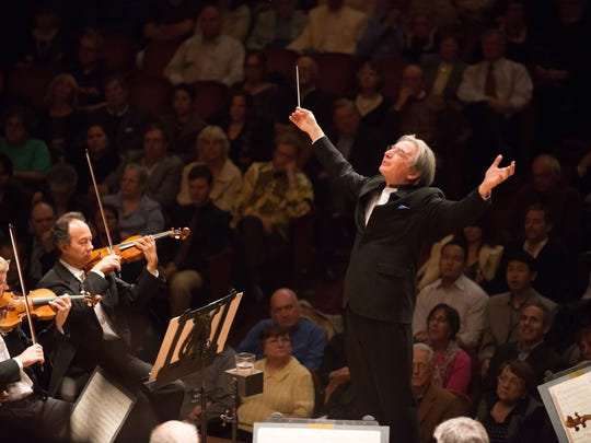 Michael Tilson Thomas and the San Francisco Symphony.