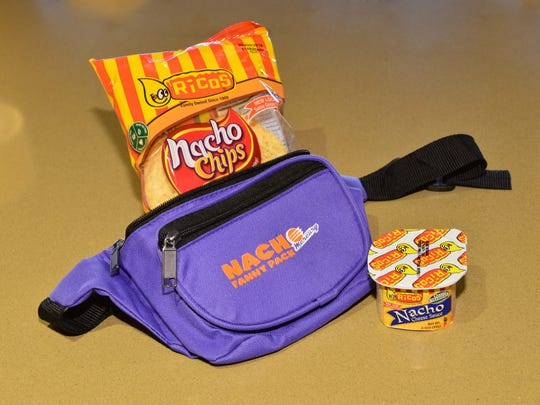 Nacho Fanny Pack is back for a second season at Phoenix Mercury basketball games.