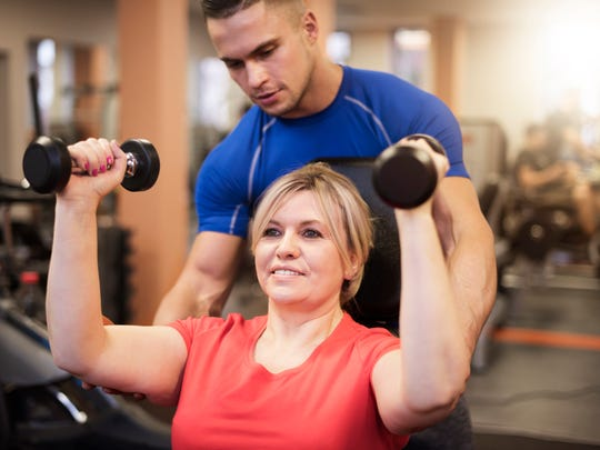 Personal trainers can customize a exercise routine for you and your lifestyle.