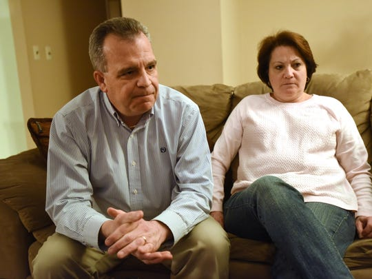 Roxbury Councilman Jim Rilee and his wife, Stacey, talk about their daughter, Jody Rilee-Wilson, whose body was found on the top of an Oklahoma mountain in 2009.