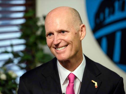 USP NEWS: FLORIDA GOVERNOR RICK SCOTT A USA DC