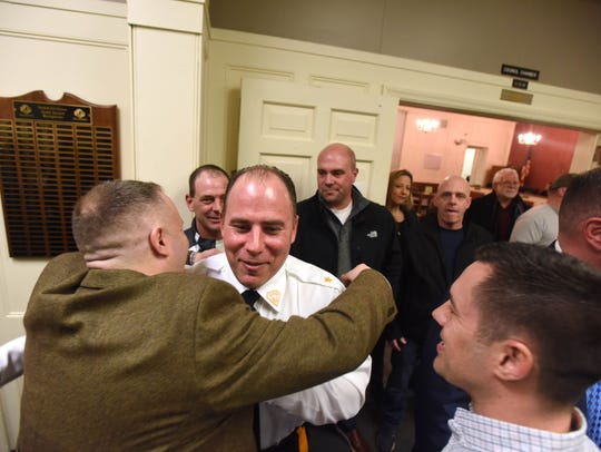 Capt. William Wicker, Oradell's new chief of police,