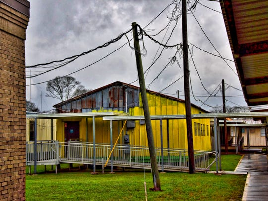 Voters will decide if 32 temporary classrooms at Evangeline