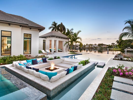 The $17.7 million estate at 3750 Rum Row in the Port