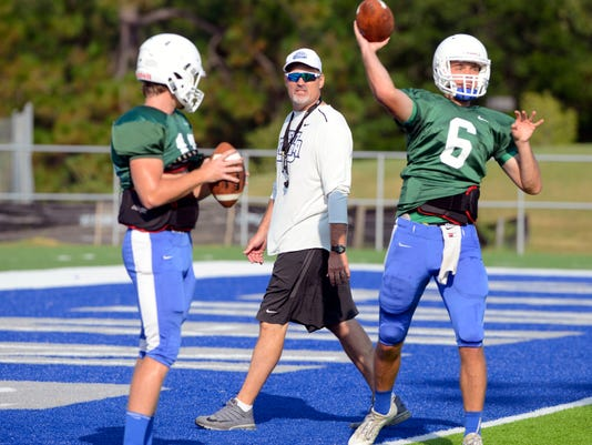 UWF Football Practice Saturday 2